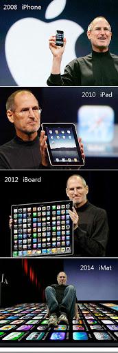 evolucao apple Evolução dos produtos Apple