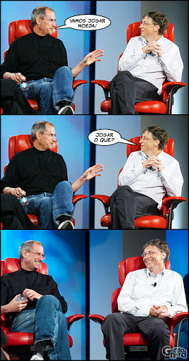 stevejobs billgates 2 Steve Jobs vs. Bill Gates