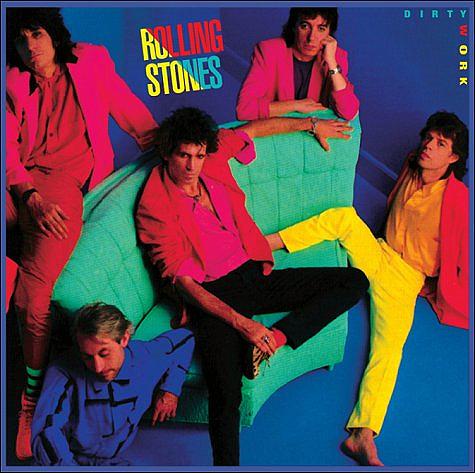 rollingstones dirtywork Coloridos precursores