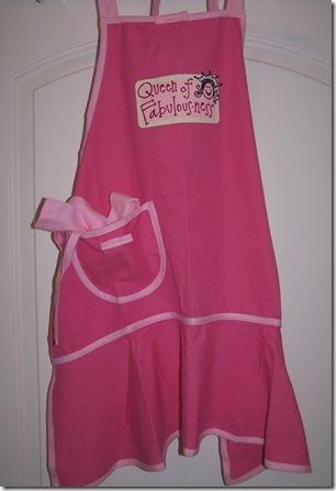 Apron Pink Med