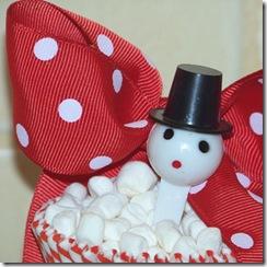 Vintage snowman pick close 3