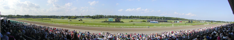 View of Belmont Park, Section 2v, June 6, 2009