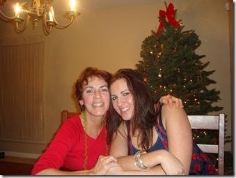 Mom & Elise & tree