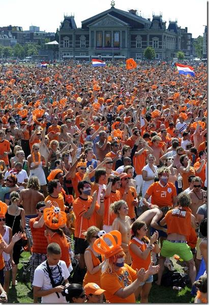Netherlands Brazil Soccer Wcup
