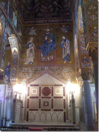 chapel mosaics Palermo