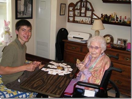 Derek & Grandma