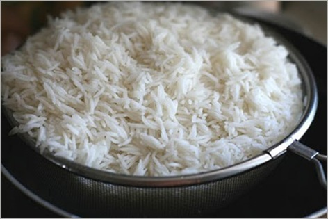 rice-strained