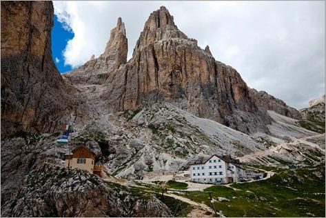 Las Torres de Vajolet, Italian Alps