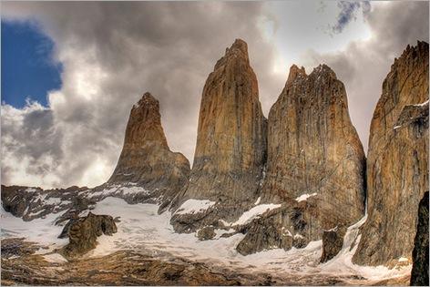 Las Torres, Torres del Paine National Park, Patagonia