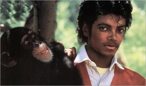 Michael Jackson's Chimp