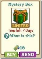 Master FarmVille Mystery Box New - Green and Golden 2