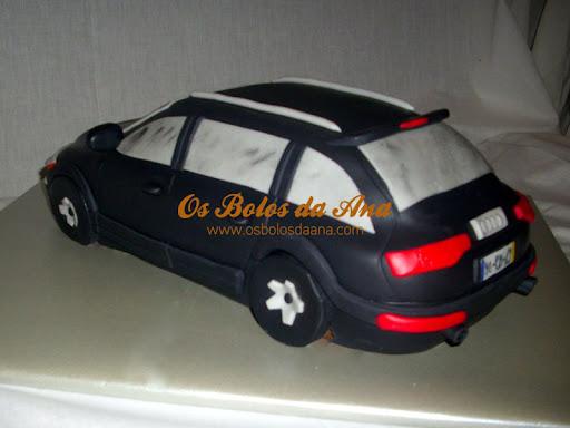 Bolo Esculpido Audi Q7 Bolo 3D Audi 3D Cake Sculped Cake