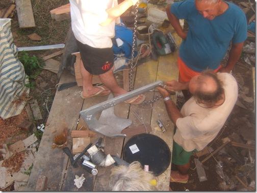 Colocação do barco na água2 012