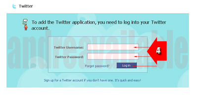 user dan pasword twitter, twitter user password, langkah facebook masuk twitter