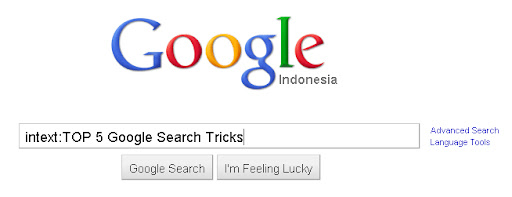 TOP 5 Google Search Tricks