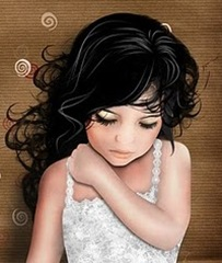 A mocinha triste