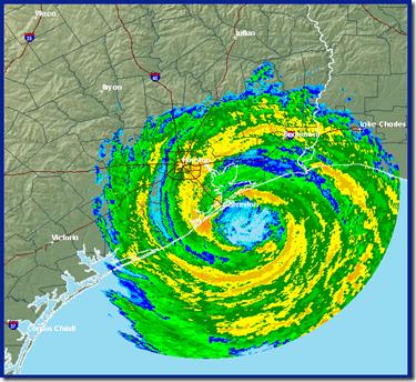 Hurricane Ike Radar