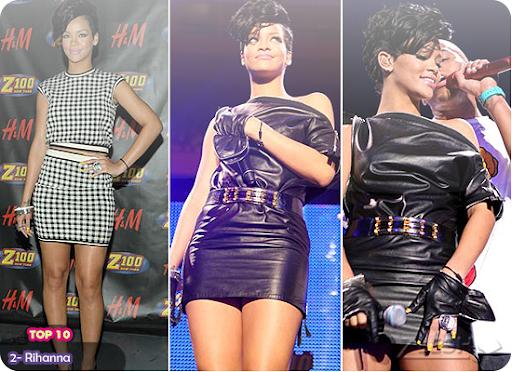 2- Rihanna