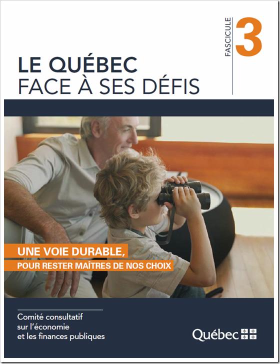 Le Québec face à ses défis -  Fascicule 3