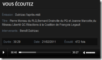 Legault Dutrizac