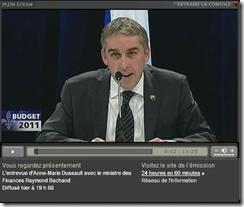 Québec - Budget 2011- Opposition
