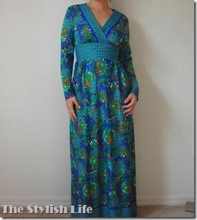 1960 maxi dress
