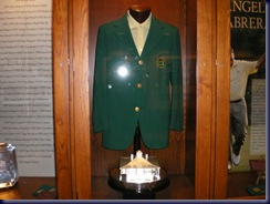 cabreras green jacket in the champions locker room