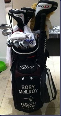 rory mcilroy whats in the bag 2011