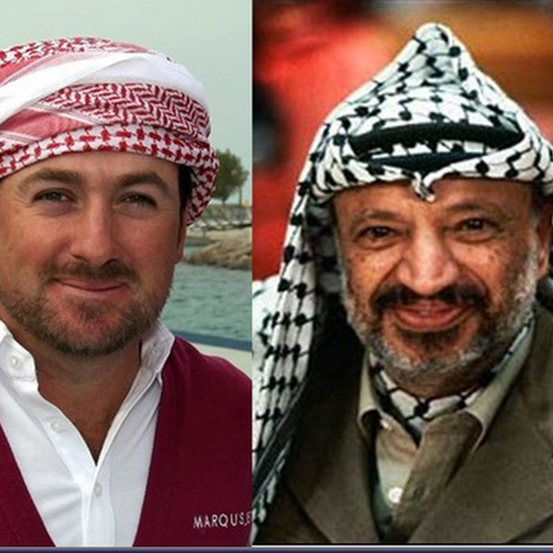 Separated At Birth: GMac and Yasser Arrafat!