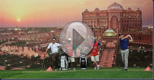 HSBC abu dhabi championship 2011 second round highlights