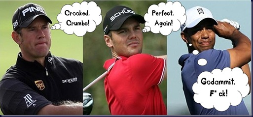 westwood kaymer woods funny pic