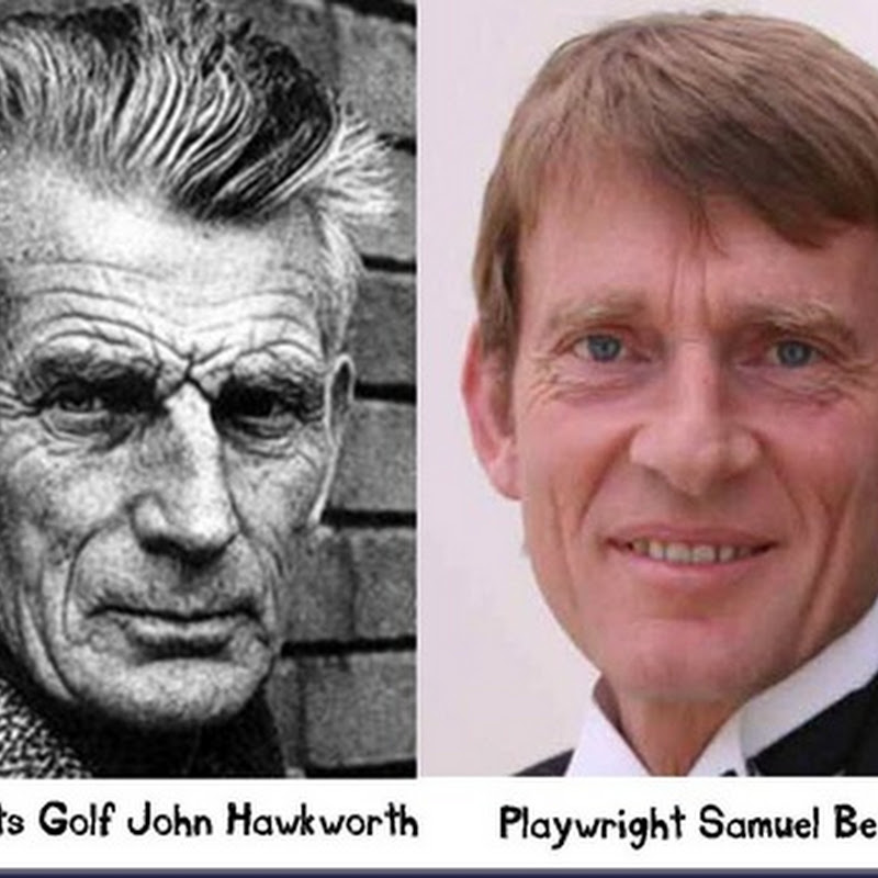Separated At Birth!- John Hawksworth and Sam Beckett