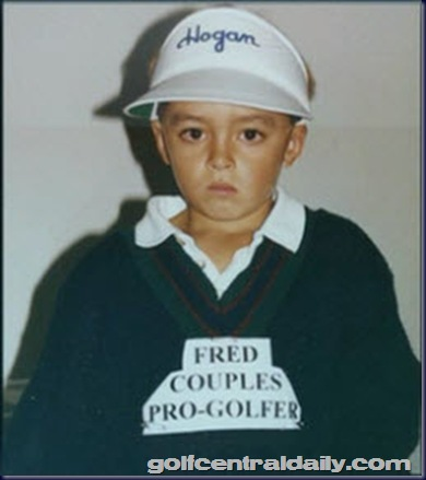 ricky fowler aged 7