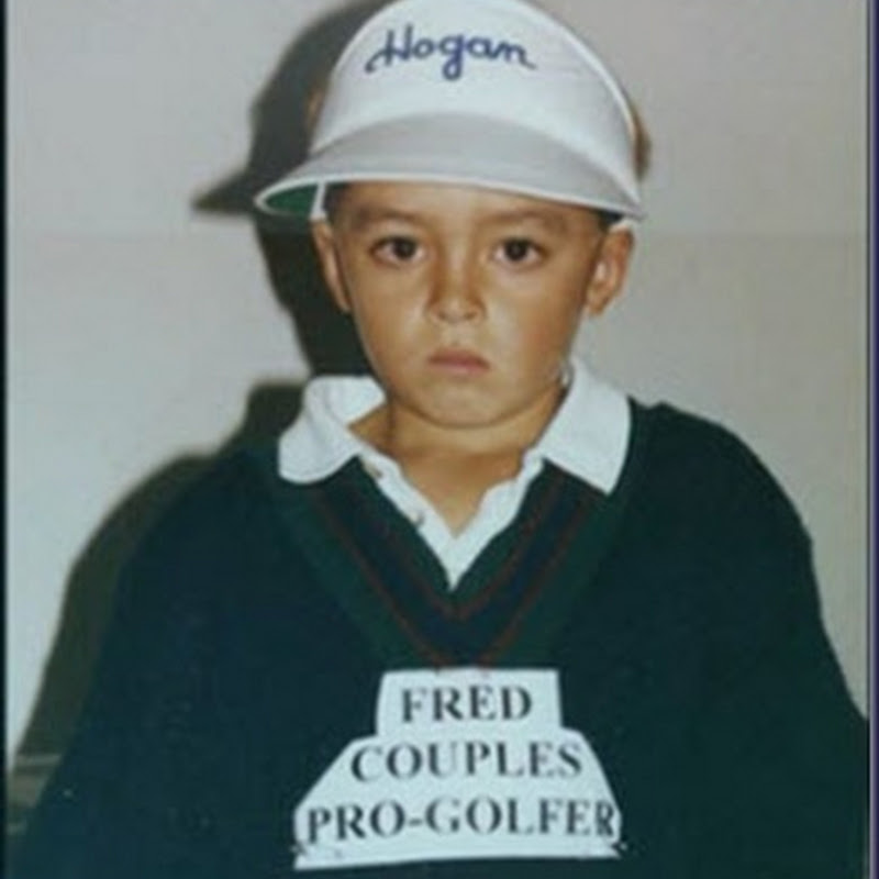 Guess Who?  Rickie Fowler Aged Seven