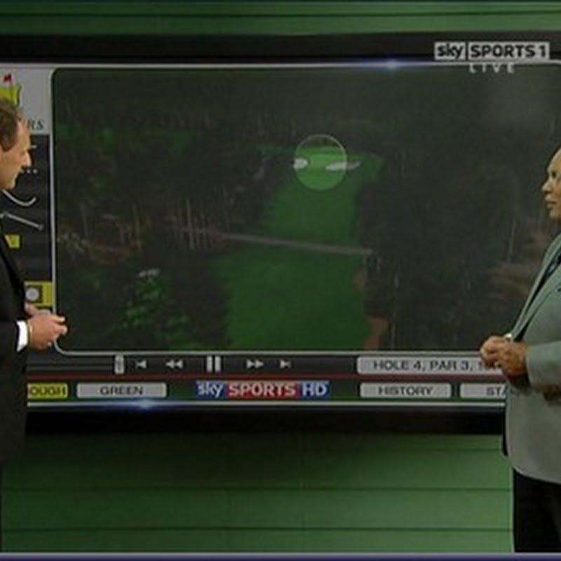 Show Us The Bloody Golf Sky Sports!