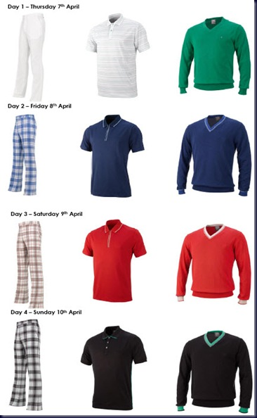 poulters masters outfits
