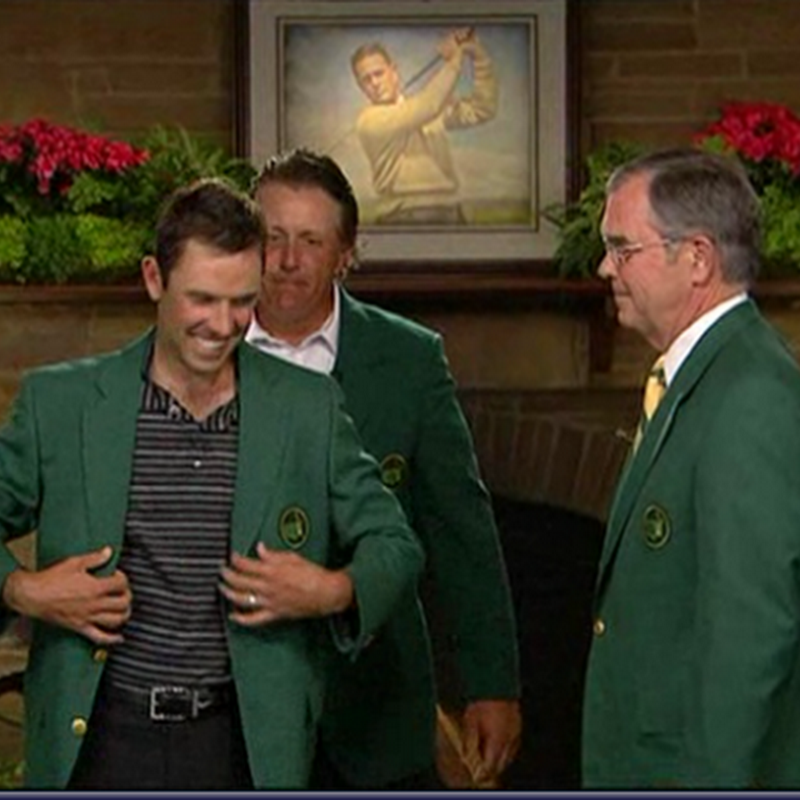 Charl Schwartzel is 2011 US Masters Champion