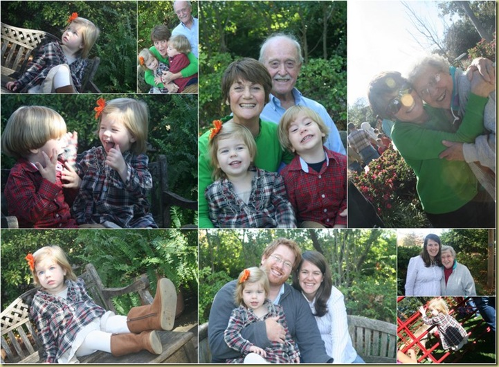 Wallace Family Picture at Arboretum