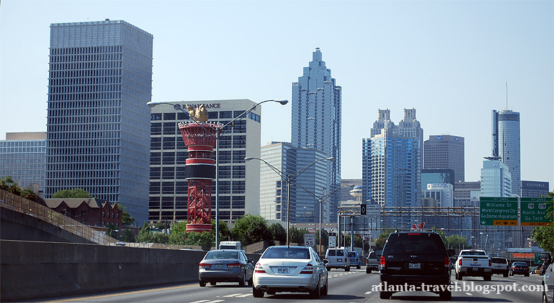 Автострады и дороги Атланты