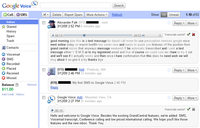 Google Voice Review