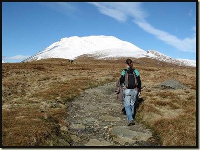 Ascending Ben Lomond