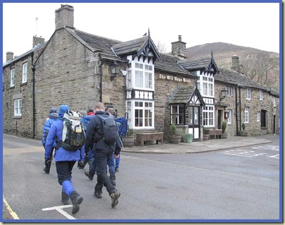 The YHA's new breed of 'techies' stride manfully past the nearest hostelry