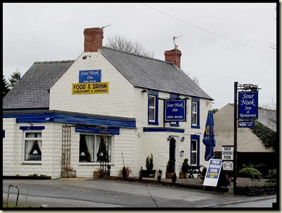 Sour Nook Inn - another pub we walked on past
