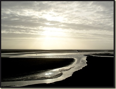 Morecambe Bay in the afternoon