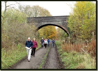 The Midland Railway near Litton Mill