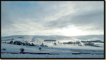 On the A9 near Auchterarder