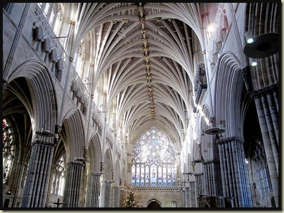Exeter Cathedral - interior