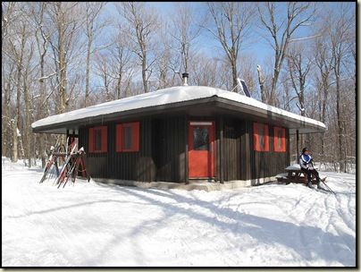 McKinstry Cabin - minus 15C outside