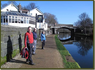 The Bridgewater Canal - outside the Bridge Inn, by Dane Road