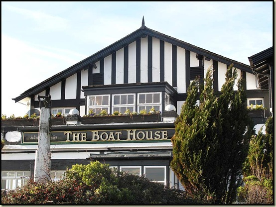 The Boat House - rendezvous point